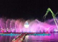 Wisata Taman Air Mancur Sribaduga Situ Buleud Purwakarta