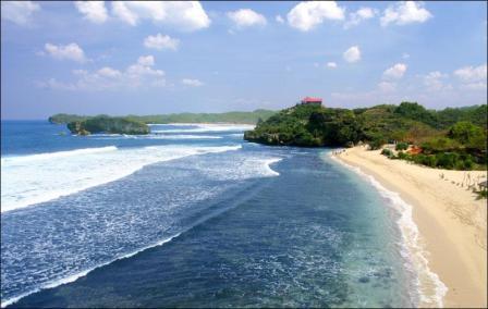 pantai sundak wonosari gunung kidul yogyakarta - tempat wisata di Jogja