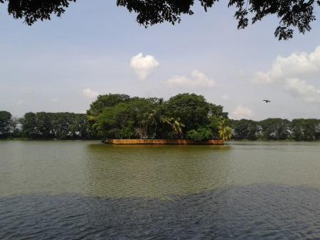 Berwisata ke Danau Tasikardi di Banten