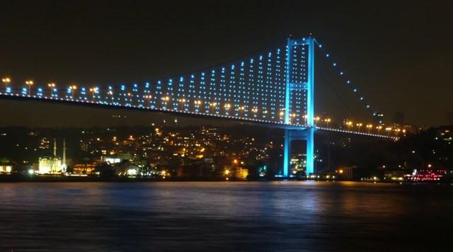 Bosphorus Bridge Turki - tempat wisata di Turki