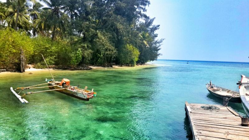 Destinasi Wisata Pulau Sangiang di Banten