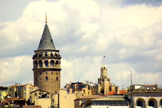 Galata Tower di Turki