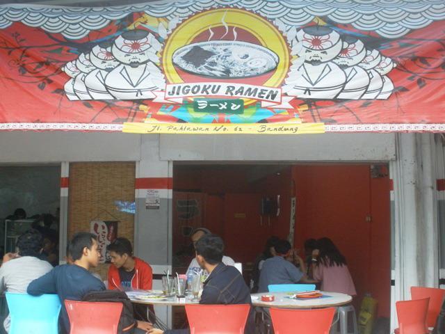 Jigoku Ramen Bandung - Tempat Wisata Kuliner di Bandung