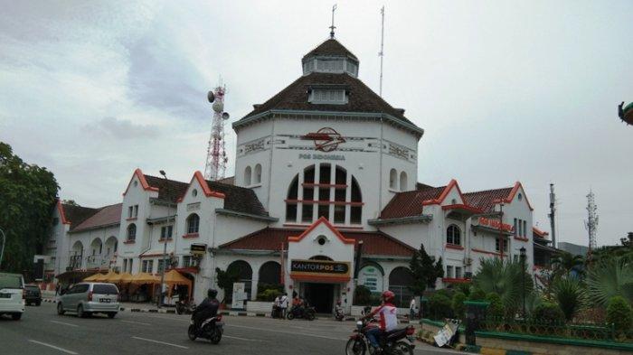 Kantor Pos Medan via Tribun Medan