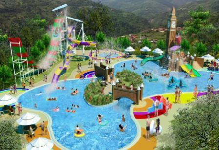 Liburan Seru di Big Ben Waterpark Cianjur - Tempat wisata di Cianjur