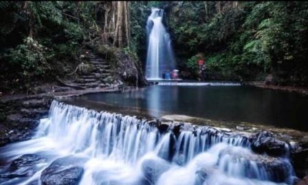 Objek Wisata Air Terjun Curug Putri di Banten
