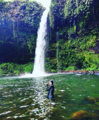 Objek Wisata Alam Air Terjun Curug Ceheng di Purwokerto