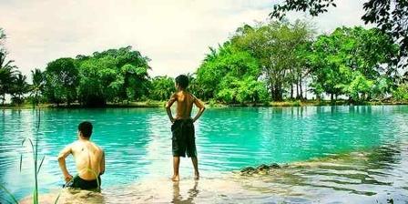 Objek Wisata Eksotis Danau Linting Medan
