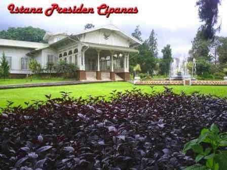 Objek Wisata Menarik Istana Presiden di Cianjur