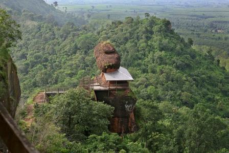 Objek Wisata Phu Thok di Thailand