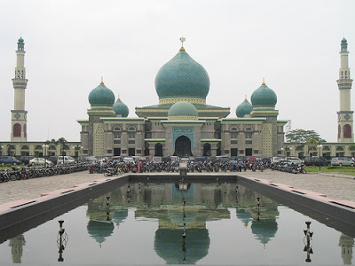 Objek Wisata Religi Masjid Agung An Nur di Pekanbaru