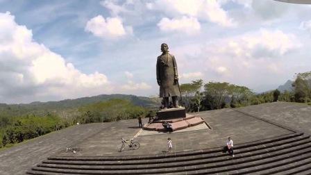 Objek Wisata Sejarah Monumen Jendral Sudirman di Pacitan