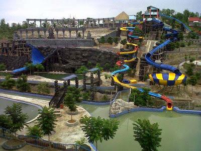 Objek Wisata Seru Kediri Waterpark