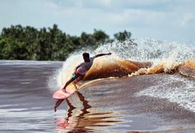 Objek Wisata Seru Sungai Kampar Pekanbaru Riau