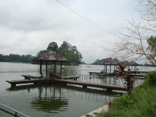 Objek Wisata Situ Gede di Tasikmalaya