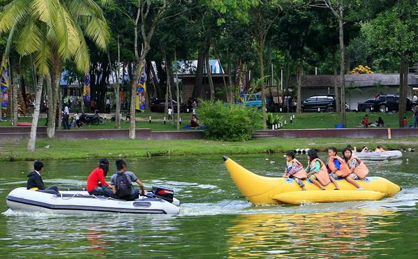 Objek Wisata Taman Rekreasi Alam Mayang di Pekanbaru