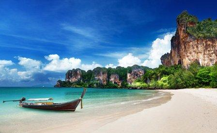 Obyek Wisata Seru Railay di Thailand