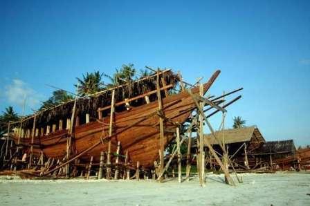 Pusat Kerajinan Perahu Pinisi
