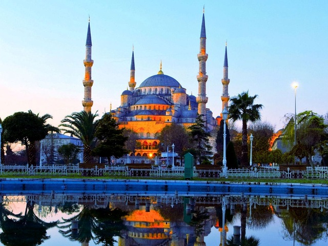 Süleymaniye Mosque Turki