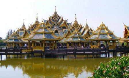Siam Ancient City - tempat wisata di Thailand