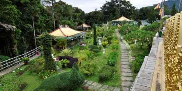 Taman Alam Lumbini Tempat Wisata di Lereng Gunung