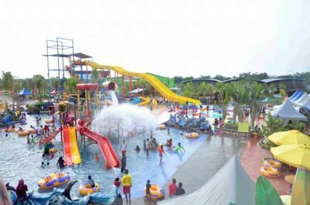 Tempat Liburan Seru Wonderland Adventure Water Park di Karawang