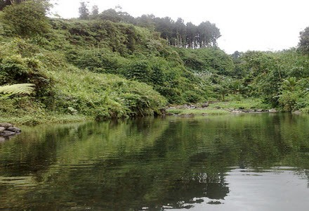Tempat Rekreasi Keluarga Telaga Pucung di Purwokerto