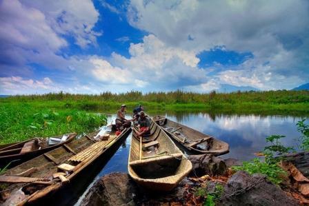 Tempat Wisata Alam Rawa Dano di Banten