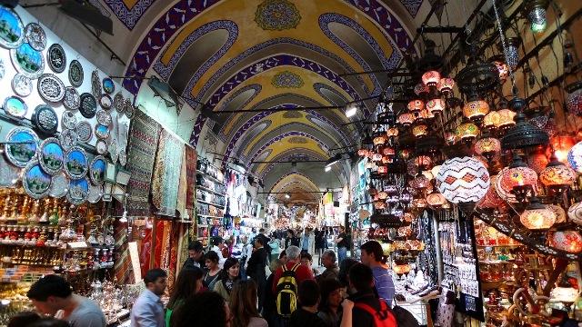 Tempat Wisata Belanja di Turki Grand Bazaar - tempat wisata di Turki