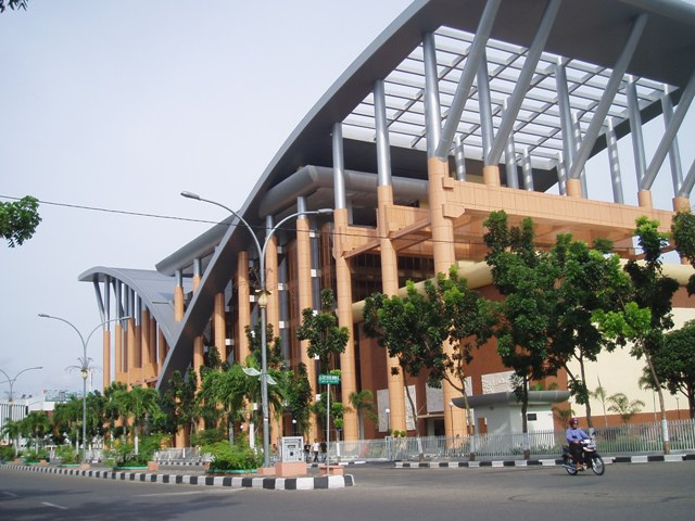 Tempat Wisata Edukasi Perpustakaan Soeman H.S di Pekanbaru