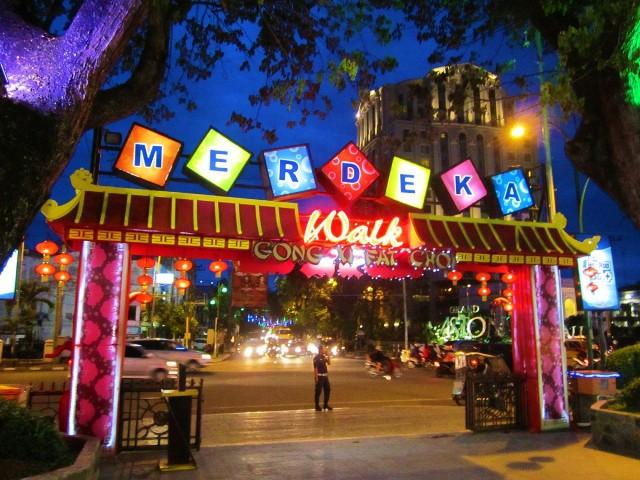 Tempat Wisata Kuliner Merdeka Walk di Medan