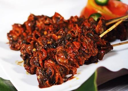 Tempat Wisata Kuliner Sate Bekicot di Kediri
