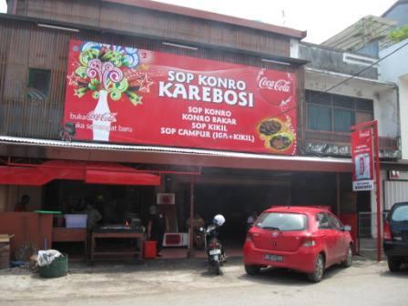 Tempat Wisata Kuliner Sop Konro Karebosi di Makassar