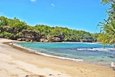 Tempat Wisata Pantai Wawaran Pacitan - tempat wisata di Pacitan