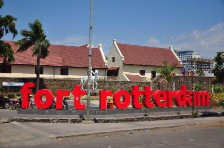 Tempat Wisata Sejarah Benteng Rotterdam di Makassar