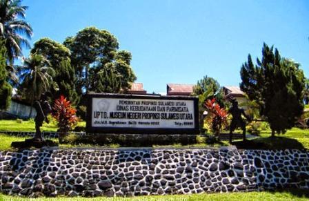 Tempat Wisata Sejarah Museum Negeri Sulawesi Utara di Manado