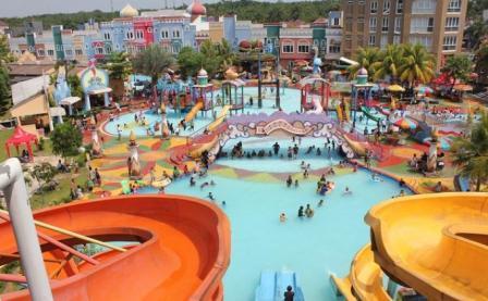 Tempat Wisata Seru Fantasy Water Park di Depok