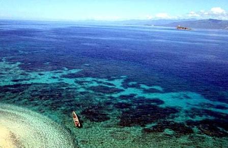 Tempat Wisata Taman Laut Tumbak