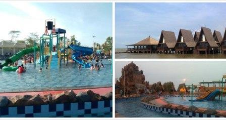 Wahana Bermain Taman Ade Irma Suryani (Waterland) di Cirebon