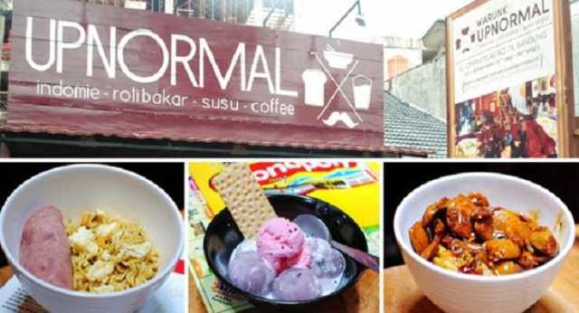Warunk Upnormal Bandung - Tempat Wisata Kuliner di Bandung