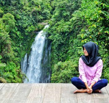 Wisata Alam Curug Gomblang di Purwokerto