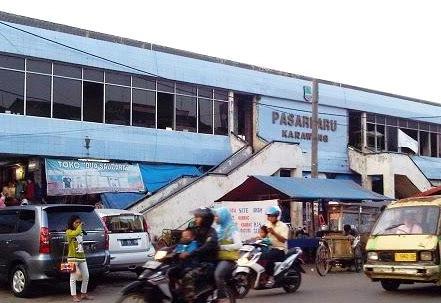 Wisata Belanja Pasar Baru Karawang