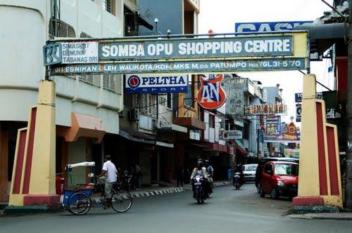 Wisata Belanja di Jalan Somba Opu via Inisayadanhidupsaya.wordpresscom