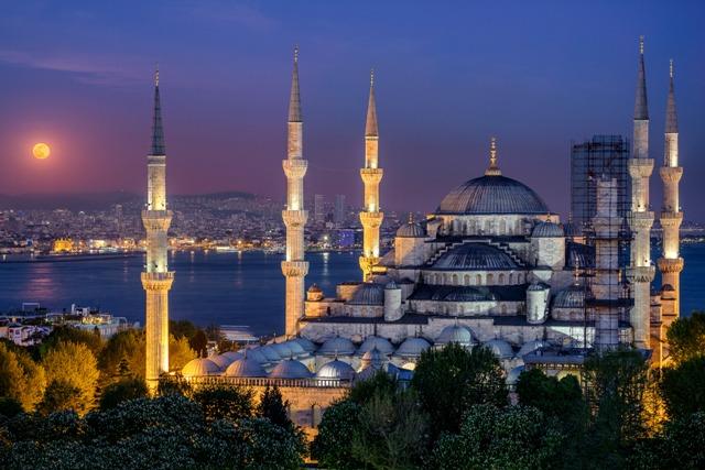 Wisata ke Blue Mosque Turki