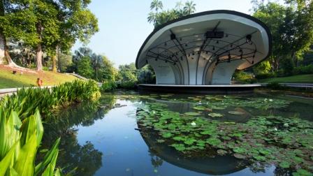 Liburan ke Singapore Botanical Gardens