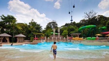 Objek Wisata Wisata Big splash di Singapore - tempat wisata di Singapore
