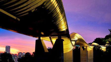 Tempat Nongkrong Henderson Waves Bridge di Singapore