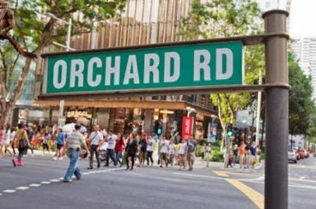 Tempat Wisata Orchard Road di Singapore