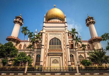 Wisata Religi Masjid Sultan di Singapore