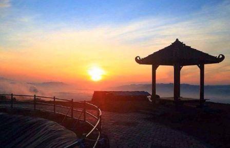 Embung Batara Sriten - tempat wisata Gunung Kidul